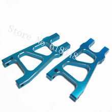 1 Pair HSP 188021 Almiunum Rear Lower Suspension Arm 08039/08050 1/10 Upgrade Parts For RC Baja Off Road Monster Truck(China)