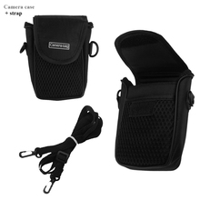 AIYINGE  Black Camera Bag For Sony DSC-TX1 TX5 TX7C TX9C TX10 TX20 TX55 TX100 TX200 TX300 S800 S930 S950 S980 S2100 S5000