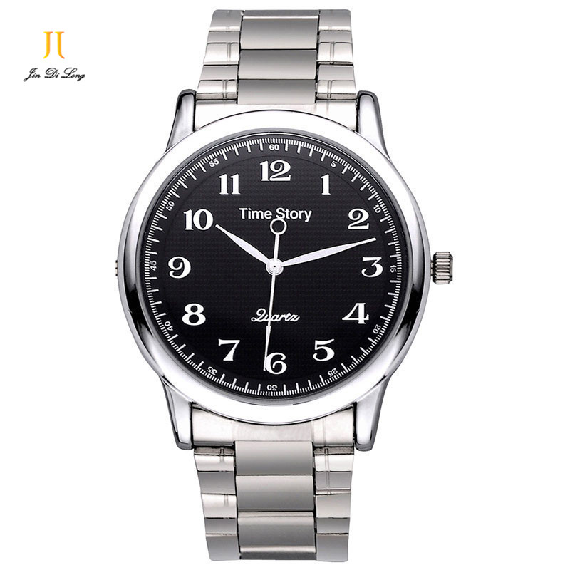 Brand Time Story Classic Fashion Casual Watches Mens Quartz Business Wrist Watches Waterproof Stainless Steel Strap Watch Men <br><br>Aliexpress