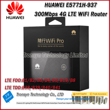 New Arrival Original Unlock 300Mbps HUAWEI E5771H-937 4G LTE Power Bank WiFi Router With Sim Card Slot Support Worldwide(China)