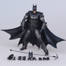 2016 Hot ! NEW 17cm Justice league batman mobile collectors action figure toys Christmas doll toy(China)
