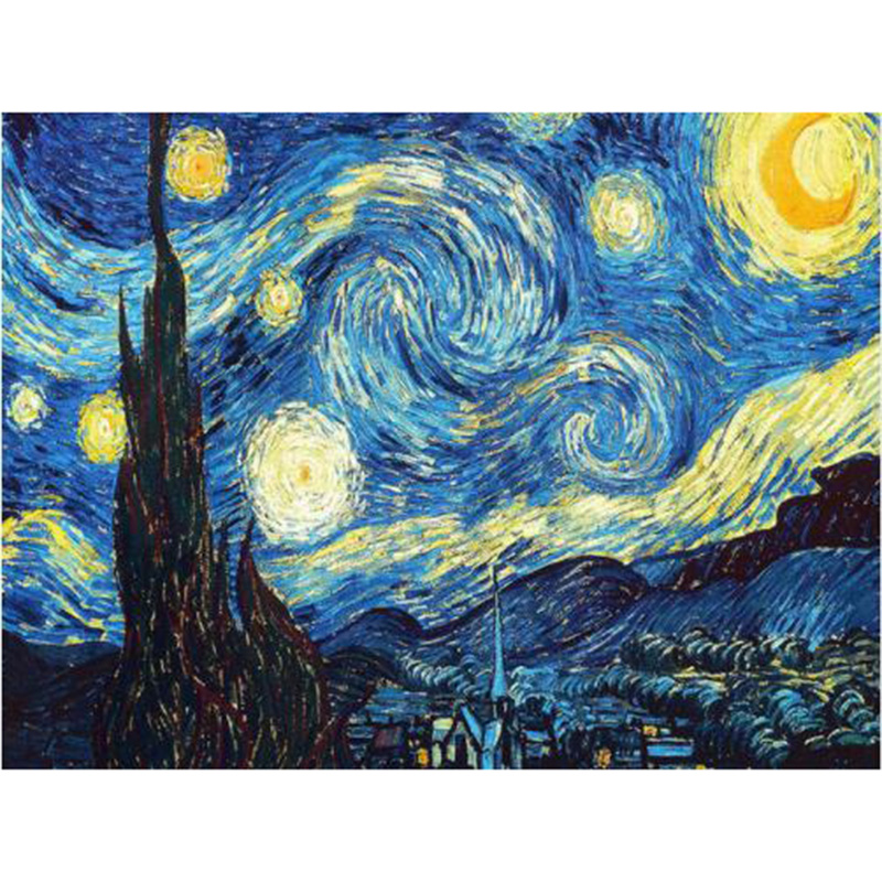 Home Decoration DIY 5D Diamond Embroidery Van Gogh Starry Night Cross Stitch kits Abstract Oil Painting Resin Hobby Craft
