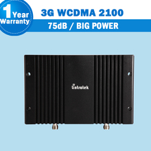 Lintratek 75dB Big Power 3G WCDMA UMTS 2100mhz Mobile Phone Signal Booster 3G HSPA Cellular Repeater Amplifier Amplificador S33
