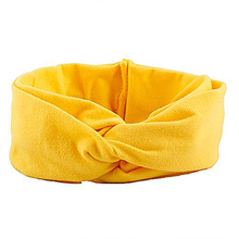 Toddler Head Wrap Baby Cute Headbands (yellow)