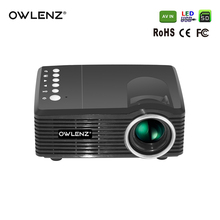 Owlenz Christmas Gift SD30 Cheap Price Multimedia Video Mini LED Toy Projector for Kids(China)