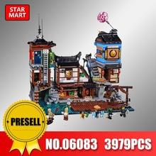 Lepin 06083 Ninjagoing Building Series City Docks Set Compatible legoingly 70657 ninjagoing Building Blocks bricks toys