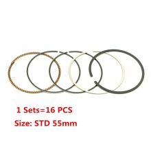 4 Sets STD Bore diameter 55mm Engine Piston Rings For Honda CB400 1992-1998 97 96 95 94 93 CBR400 NC23 CBR400 NC29 VFR400 NC30