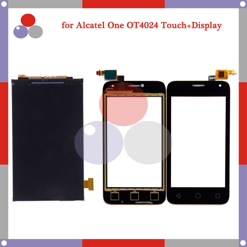 4.0 For Alcatel One Touch Pixi First OT4024 4024 OT4024D 4024D 4024X LCD Screen Display + Touch Screen Digitizer Assembly<br><br>Aliexpress