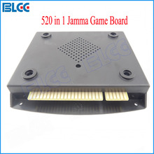 Muiti Arcade Game Board with 520 in 1 Jamma Games VGA/CGA Output for CRT/LCD Video Games(China)