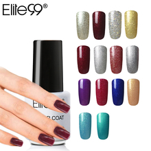 Elite99 All 60Pcs Long Lasting One Step Gel Nail Polish 7ml 3 In 1 Gel Varnishes Esmalte UV Color Semi Permanent No Top Base Gel