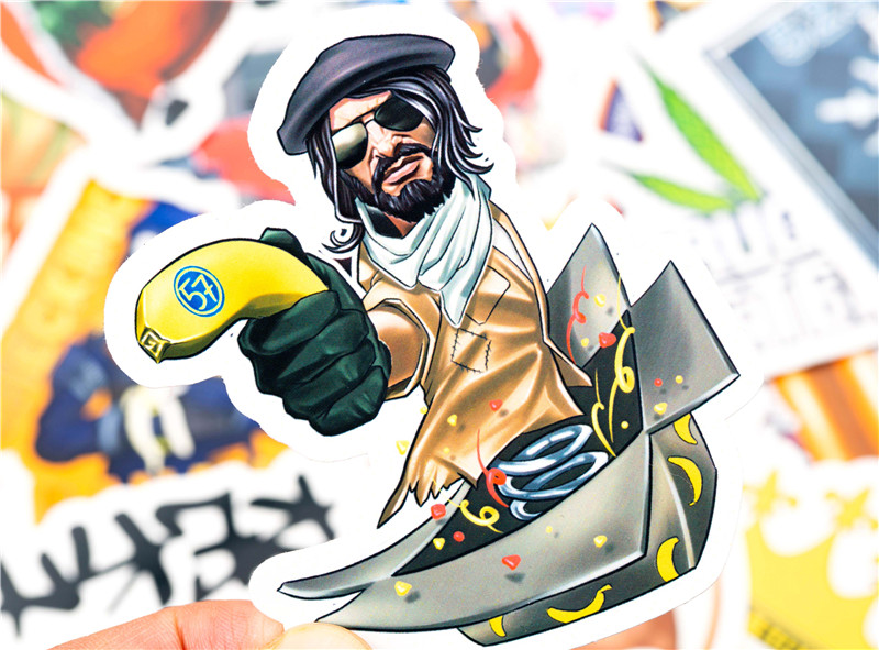 30PCS Pack cs go Stickers Set Stickers For Kids Luggage Skateboard Laptop Teem Game Stickers Graffiti Funny Sticker  (12)