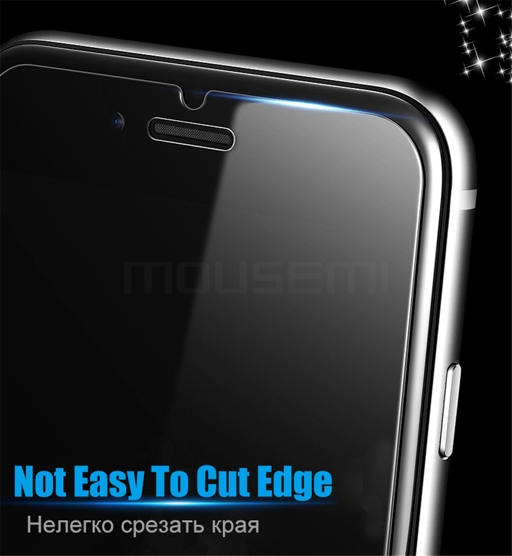 MOUSEMI Screen Protector For iPhone 6 6s Glass Tempered Scratch Proof 9H 2.5D For iPhone 6s 6 Plus Tempered Glass Protection (2)