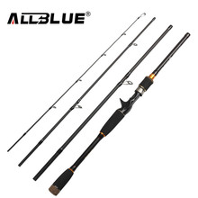 ALLBLUE 2017 New Fishing Rod Spinning Casting Rod 99% Carbon Fiber Telescopic 2.1M 2.4M 2.7M Fishing Travel Rod Tackle peche(China)