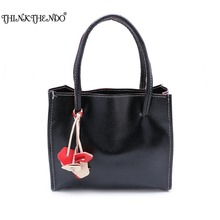 THINKTHENDO Fashion Women Candy Handbag Shoulder Bag Tote Purse Ladies Messenger Satchel Hobo Bag 10 Colors