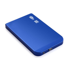 "2.5 ""USB 2.0 External enclosure for 9.5 mm and 7 mm 2.5"" SATA HDD and SSD hard disk with USB 2.0 cable, free installation tool(China)"