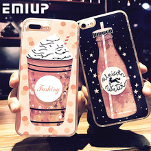 Buy Cartoon Flower Bottle Quicksand Dynamic Cover iPhone 6 Cases Liquid Glitter Phone Case Iphone 7 Case 6S 7 8 Plus Coque for $2.95 in AliExpress store