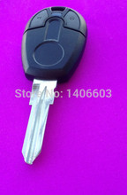 Replace case for FIAT key shell brazil positron car shell fob cover alarme