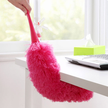 Top Sale Soft Microfiber Cleaning Duster Dust Cleaner Handle Feather Static Anti Magic Household Cleaning Tools(China)