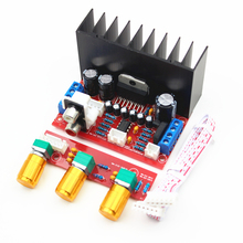 TDA7377 amplifier Board Single power computer super bass 2.1 power amplifier board 3 channel sound amplifier TDA7377 DIY suite(China)