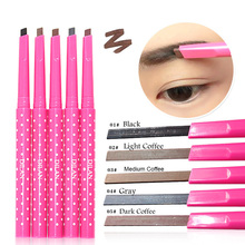 1 pcs Waterproof Longlasting Make up Eyebrow Pencil Eye Brow Liner Makeup Tools maquillage 4 Different Colors