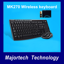 Logitech Wireless Combo MK270 with Keyboard and Mouse(China)