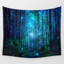 Tree Tapestry 150X130cm Bedspread Throw Blanket Yoga Mat Polyester Wall Hanging Home Bedroom Decoration Textiles Art Wall Decor