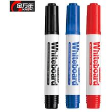 10 pcs/lot Whiteboard Marker Wholesale China 3.0mm Large Capacity Refillable  Non-toxic Whiteboard Marker Pen Office Supplies