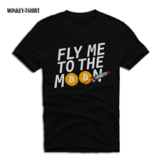 Buy GILDAN T SHIRT FLY ME TO THE MOON BITCOIN ETHEREUM LITECOIN CRYPTO for $12.99 in AliExpress store