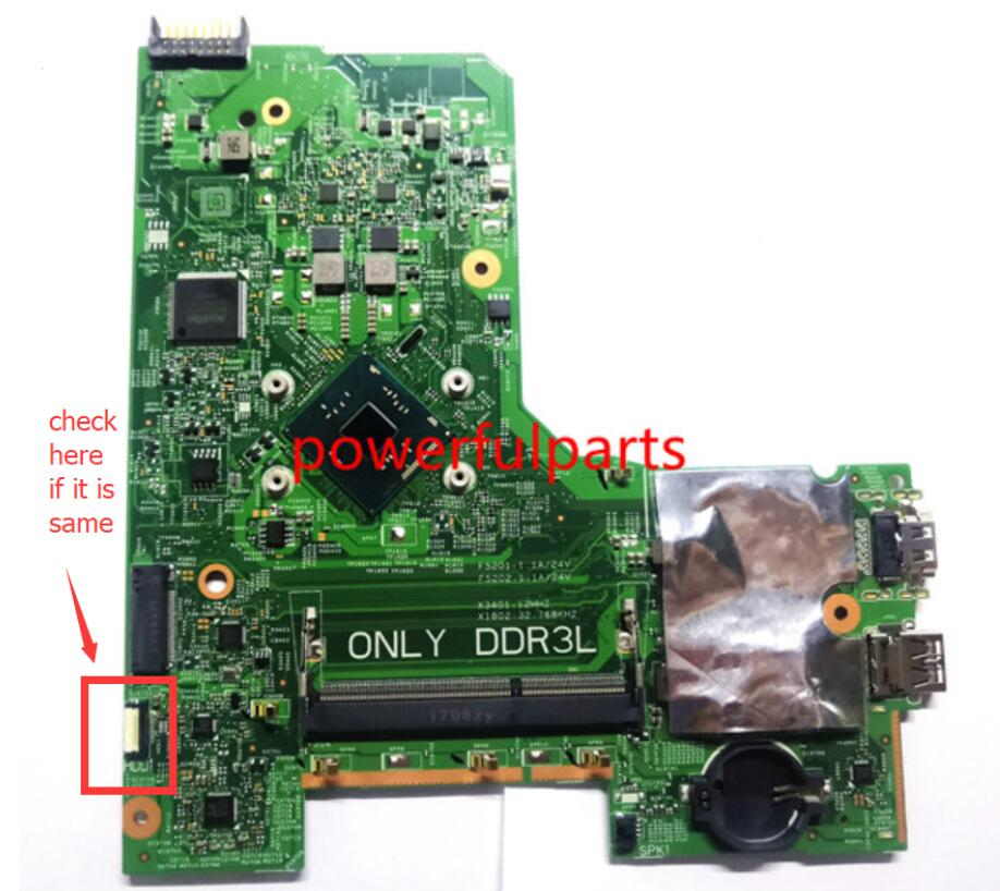 100% new for dell for inspiron 3452 3451 3552 laptop motherboard CN-0JX7F0 JX7F0 14279-1 N3700 CPU built-in working well