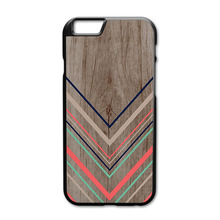 Tribal Chevron Wooden Phone Cases for iPhone 4S 5S 5C 6 6s Plus Samsung Galaxy S3 S4 S5 Mini S6 Edge A3 A5 A7 2015(China)