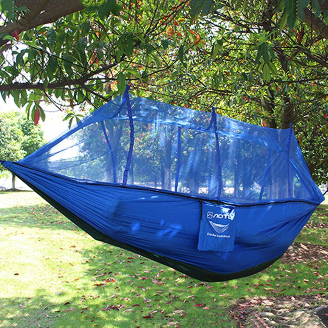 Cotton Tape Mosquito Net Double Hammock<br><br>Aliexpress