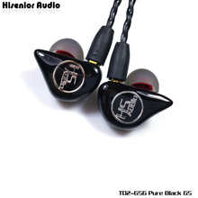 Hisenior TD2-GS Hifi IEMs CIEM In-Ear Custom Earphone Headphone with MMCX Connector 1.2m OCC Wire Cable Free Shipping