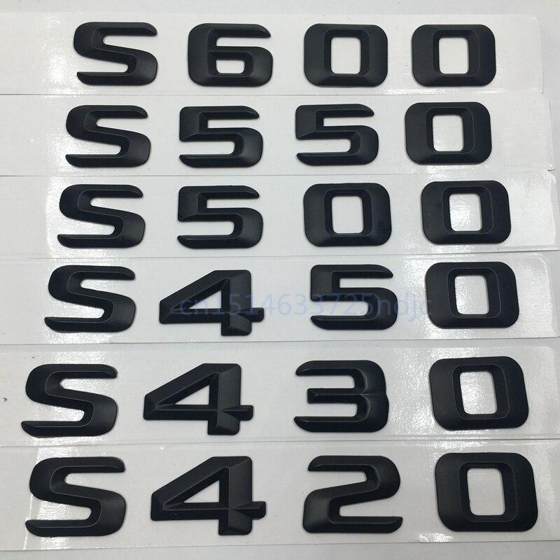 38mm Car Emblem Sticker Badge 3D Mercedes-Benz New Logo Black Diy