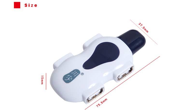 Kawau USB Hub Splitters Multi 4in1 High Speed 2.0 4 port usb-hub for notebook laptops PC Mouse Keyboard usb2.0 hub (8)