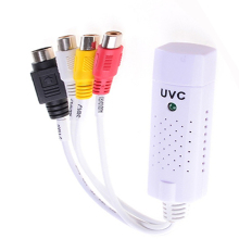 Portable UVC usb 2.0 Video & Audio Capture Card Adapter USB TV UVC Capture card vhs to dvd converter Support WIndow 7/8 XP