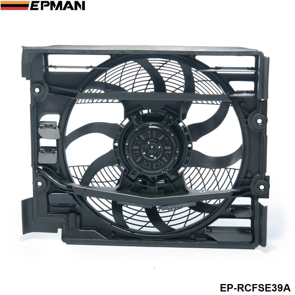 EPMAN -Car Sport Radiator Pusher Cooling Fan Assembly For BMW E39 528i 540i M5 1995-1998 EP-RCFSE39A
