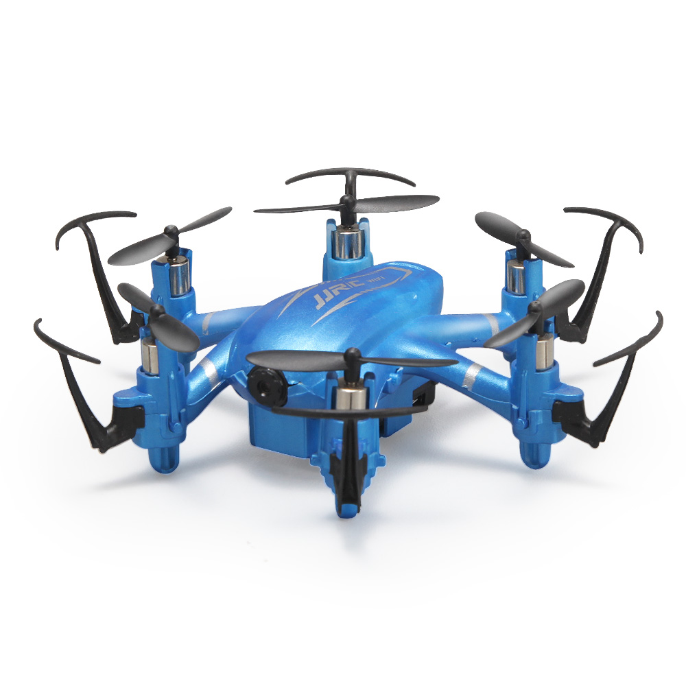 F18537/8 JJRC H20W Phone Wifi FPV Real Time with HD Camera LED RC Mini Drone 6 Axle 2.4G 4CH 3D Flip Headless Hexacopter RTF Toy<br><br>Aliexpress