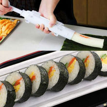 Sushi Maker Roller Kit DIY Rice Mold Sushi Bazooka Kitchen Sushi Making Tools Set Sushi Easy Device