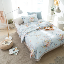 100% Cotton 150*200 cm/200*230 cm Comfortable Sleeping Comforter Duvet Summer Air Conditioning Cover Comforter 5 Style Quilt(China)