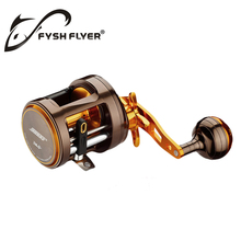 Baitcasting Sea Hawk Premium Fishing Reels; 11+1 BB, Full Metal, Magnetic Brake, High Quality Stainless Steel bearings And Shaft(China)