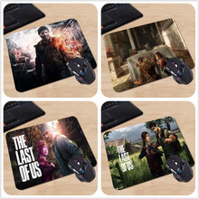 New Arrival The Last of Us Adventure Survival Game Customized Mouse Pad Computer Notebook Mice Mat Non-Slip Rubber Mousepad