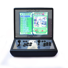 LCD Screen Arcade Game Machine With Pandora Box 4s+ 815 Games in 1 Sanwa Joystick KOF Game Machine for KOF Lover(China)