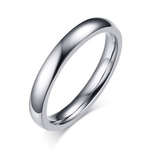 High Quality Titanium Steel Rings for Men&Women Simple Design Fashion Jewelry Wholesale Price Wedding jewelry