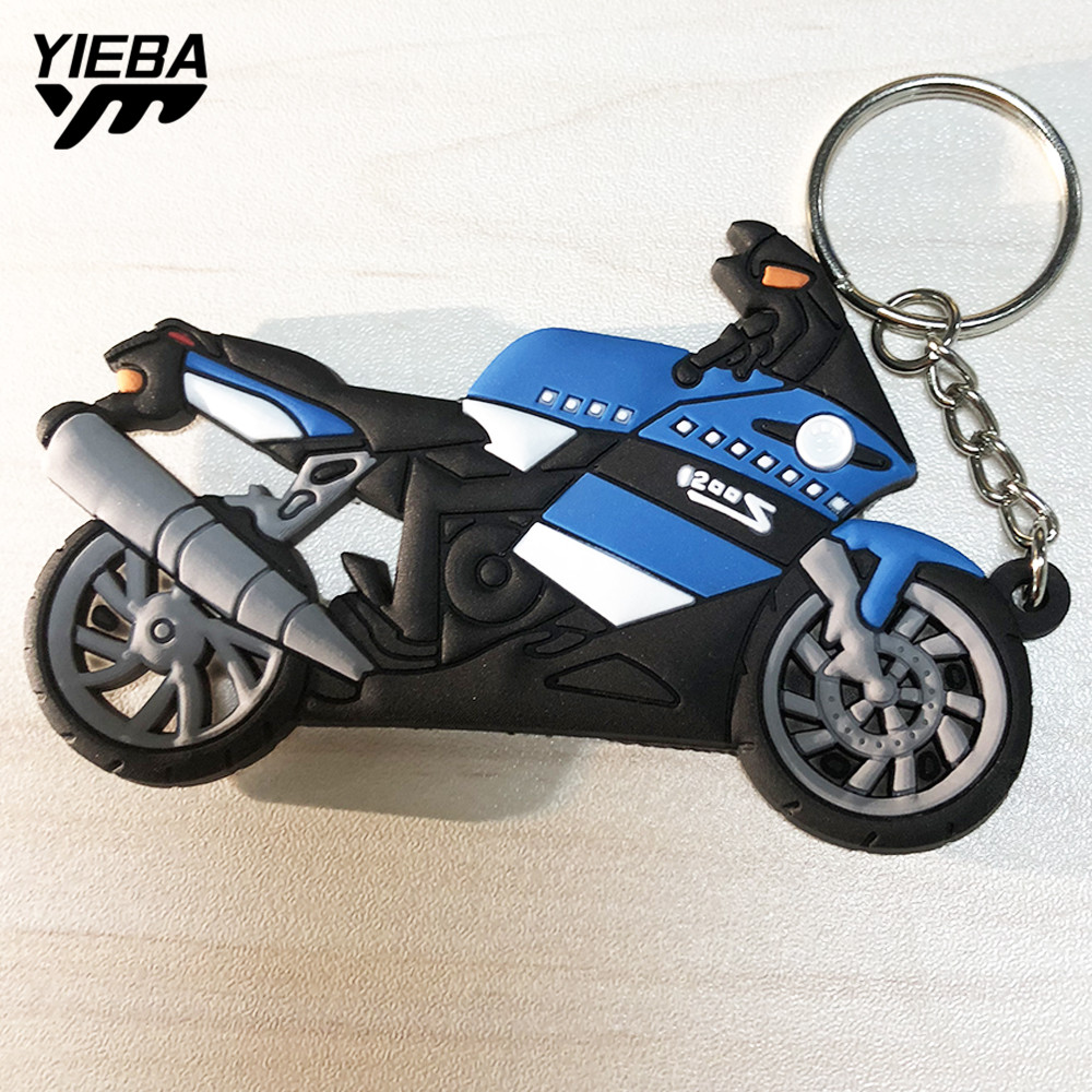 Universal Motorcycle Creative Personality Key Rings Keyring Key chain FOR BMW 1200S YAMAHA YZF R1 R6 SUZUKI GSXR HONDA CBR NINJA