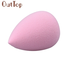 GRACEFUL 1PC Water Droplets Soft Comfortable  Makeup Cosmetic Pink Sponge Puff  MAY12
