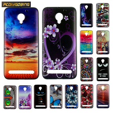 Buy Newest Case Lenovo C2 Cover Soft Silicone Color Pattern Painting Back Cover Case lenovo c2 Fundas Capa for $1.28 in AliExpress store