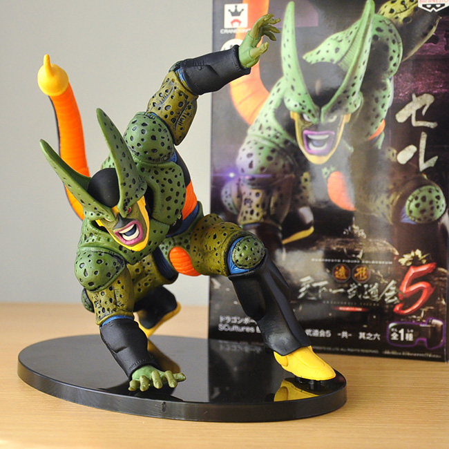 Anime Dragon Ball Z Cell PVC Action Figure Collectible Model Toy 15cm KT1837<br><br>Aliexpress