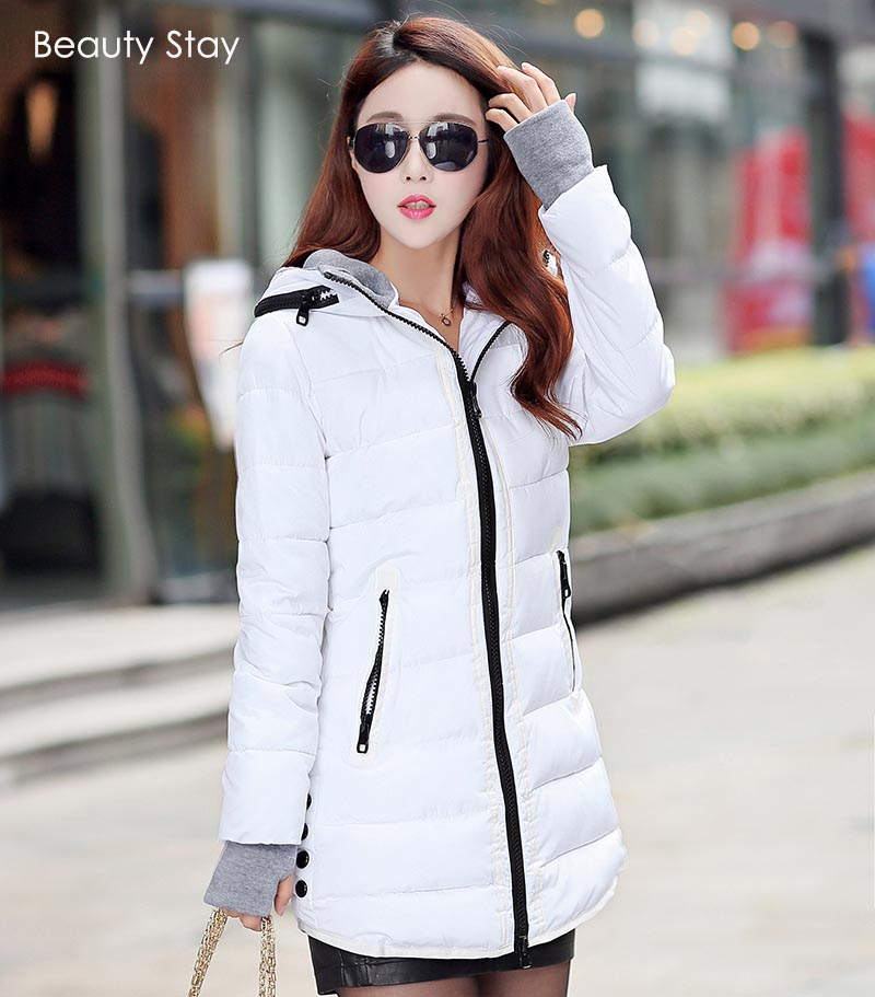 Beauty Stay 2017 Winter Women Jacket Long Down Coat  Waded Coat Women Cotton Parka Winter Warm Coats Casual Hooded Down CoatОдежда и ак�е��уары<br><br><br>Aliexpress