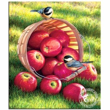 NEW DIY Diamond Painting 3D Cross Stitch Tools Kits Diamond Mosaic Apple Harvest Picture Diamond Embroidery Home Decoration Gift