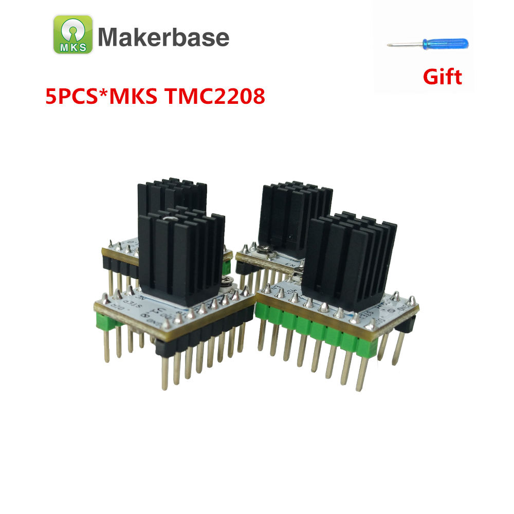 5pcs TMC2208 Motor Driver Module Super Silent Stepstick Stepper For 3D Printer